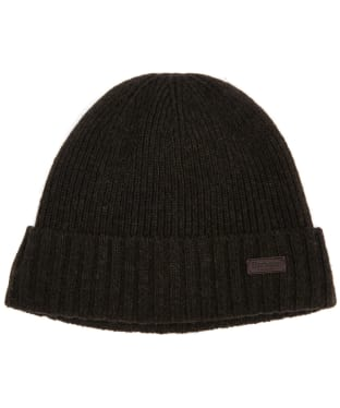 Men's Barbour Carlton Beanie Hat - Dark Green