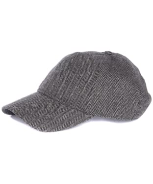 Men's Barbour Oakwell Sports Cap - Grey Herringbone