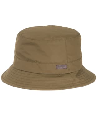 Men's Barbour Elwood Waterproof Sports Hat - Army Green