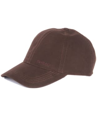 Men's Barbour Moleskin Sports Cap - Brown