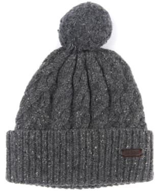 Men's Barbour Seaton Pom Beanie - Grey
