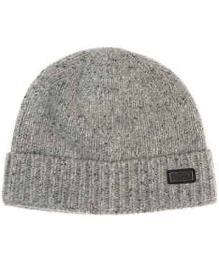 Men's Barbour International Spoiler Beanie Hat - Light Grey