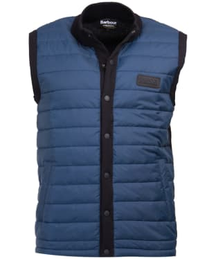 Men's Barbour International Baffle Gilet - Dark Petrol