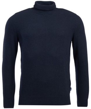 Men's Barbour Leahill Roll Neck Sweater - Navy