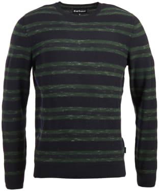 Men s Barbour Weser Sweater - Navy fe789d7f5416