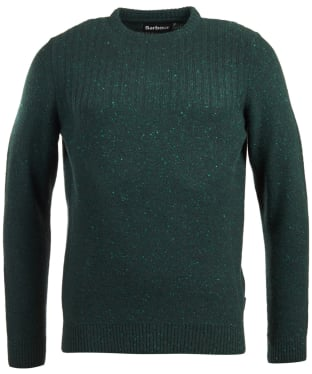 Men's Barbour Tay Nep Crew Neck Sweater - Seaweed