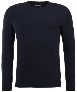 Men's Barbour Harold Crew Neck Sweater - Navy