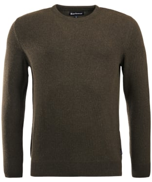Men's Barbour Harold Crew Neck Sweater - Olive