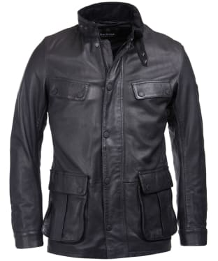 Men's Barbour International Paul Leather Jacket