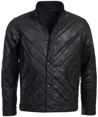 Men's Barbour Peter Leather Jacket