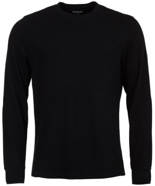 Men's Barbour International Fascia Tee - Black