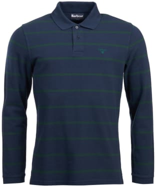 Men's Barbour Lineout Striped Polo Shirt