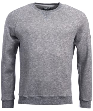 Men's Barbour International Stator Sweatshirt - Charcoal