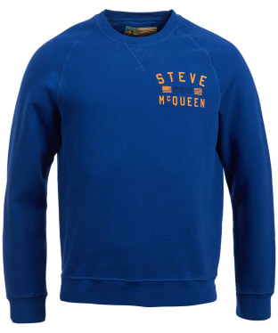 Men's Barbour Steve McQueen Voxan Sweater - Inky Blue