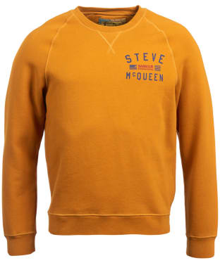 Men's Barbour Steve McQueen Voxan Sweater - Copper