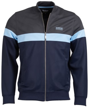Men's Barbour International Curve Track Top - Indigo