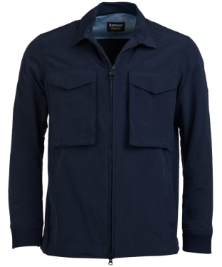 Men's Barbour International Rath Overshirt - Navy
