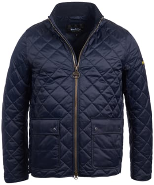 Men's Barbour International Frame Quilted Jacket - Navy