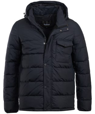 Men's Barbour International Pivot Quilted Jacket - Black