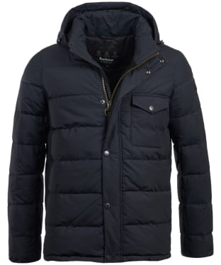 Men's Barbour International Pivot Quilted Jacket - Navy