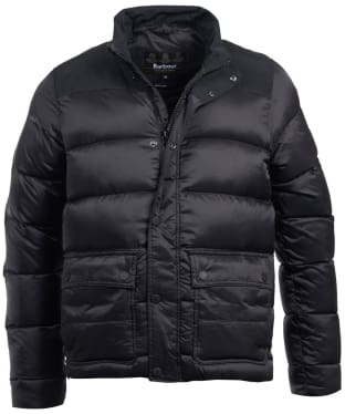 Men's Barbour International Tuck Quilted Jacket - Black
