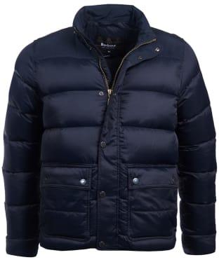 Men's Barbour International Tuck Quilted Jacket - Navy