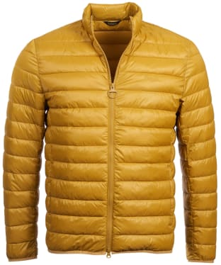 Men's Barbour Penton Quilted Jacket - Lunar Yellow
