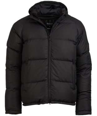 Men's Barbour International Derny Quilted Jacket - Black