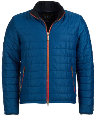 Men's Barbour International Locking Quilted Jacket - Petrol