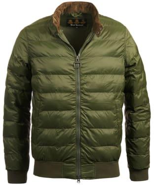 Men's Barbour Aviso Quilted Jacket - Duffle Green