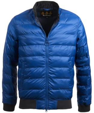 Men's Barbour Aviso Quilted Jacket - Indigo