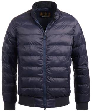 Men's Barbour Aviso Quilted Jacket - Navy