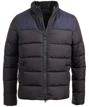Men's Barbour Dhow Quilted Jacket - Navy