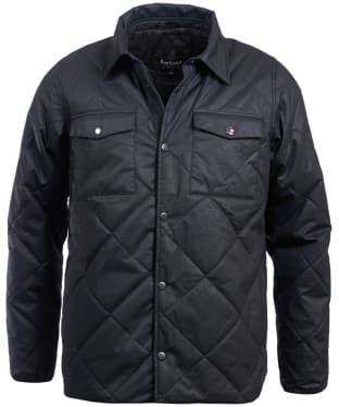 Men's Barbour Steve McQueen Sonoran Quilted Jacket - Black
