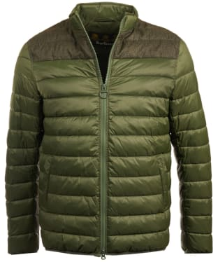 Men's Barbour Caboose Quilted Jacket - Duffle Green