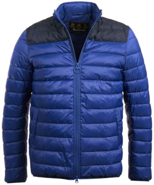 Men's Barbour Caboose Quilted Jacket - Inky Blue