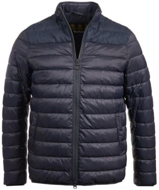 Men's Barbour Caboose Quilted Jacket - Navy