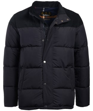 Men's Barbour Spean Quilted Jacket - Navy