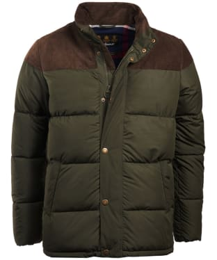 Men's Barbour Spean Quilted Jacket - Sage