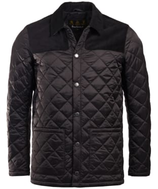 Men's Barbour Gillock Quilted Jacket - Black
