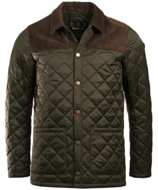 Men's Barbour Gillock Quilted Jacket - Sage