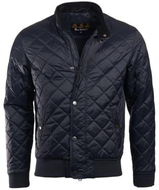Men's Barbour Edderton Quilted Jacket - Navy