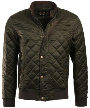 Men's Barbour Edderton Quilted Jacket - Sage