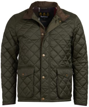 Men's Barbour Evanton Quilted Jacket - Sage