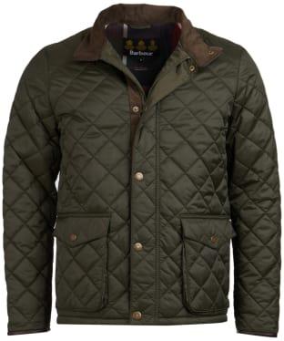 Men's Barbour Evanton Quilted Jacket - Sage