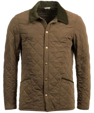 Men's Barbour Bridle Quilted Jacket - Clay