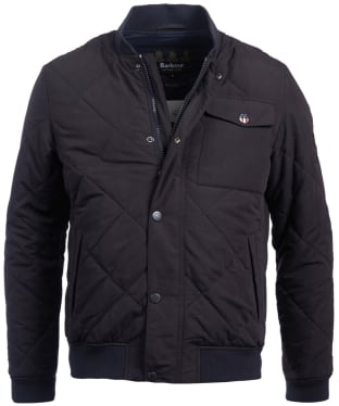 Men's Barbour Steve McQueen State Quilted Jacket - Navy