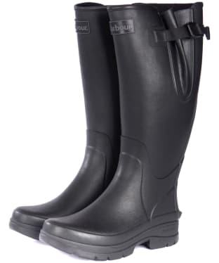 Men's Barbour Hail Wellington Boots - Black