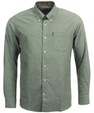 Men's Barbour The Oxford Tailored Fit Shirt - Moss