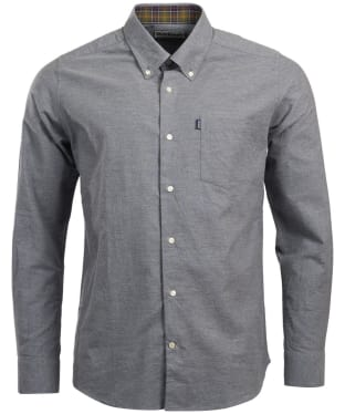 Men's Barbour The Oxford Tailored Fit Shirt - Grey Marl